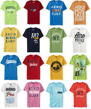 Ten Mens Aeropostale T-Shirts Choose From XS S M L XL 2XL or 3XL NWT LOT OF 10