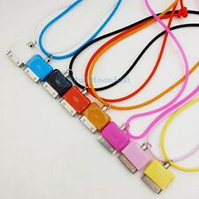 1 PCS Screwless neck Strap lanyard for Iphone 3GS 4 4S mix Pick Color