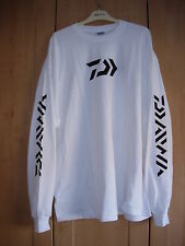 DAIWA VECTOR WHITE LONG SLEEVE COTTON SHIRT