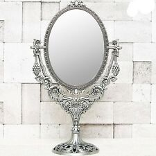 Imperial_S Vanity mirror - Classic Antique Decor Mirror Tin Frame opening gifts