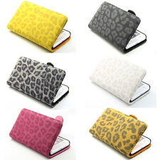 Deluxe Leopard Wallet Leather Flip Case Cover For Samsung Galaxy S2 i9100 SII