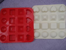 Silicon Assorted Shapes Mould - for Soap Making or Candle Making or Chocolates!