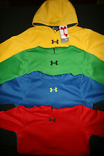Under Armour Boy's Youth Team Storm Fleece Hoody All Colors & Sizes 1245863
