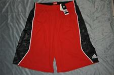 adidas Mens Alive 3.0 Basketball Shorts Z35584 Tech Red/Black/White NWT