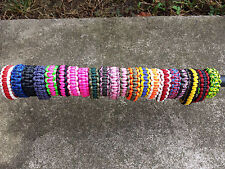 Custom Made 4 U Paracord Survival Bracelet Handmade In The USA with 550 Paracord