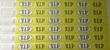 "VIP 3/4"" Tyvek Wristbands (like paper), security, events, festival"
