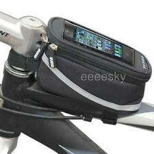 Bike Bicycle Top Front Tube Bag phone holder Cycling Accessory collect Wallet