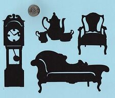 Cricut Victorian Furniture Die Cuts - Victorian Living Room - you choose pieces