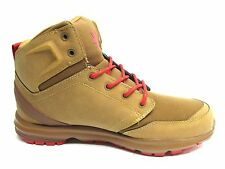 DC BOOTS RANGER TAN RED MEN SHOES SIZE 8.5 TO 13