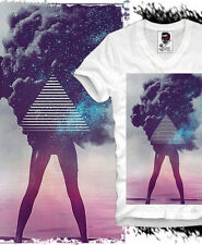 E1SYNDICATE V T SHIRT TRIANGLE HIPSTER DOPE SWAG BLOGGER HBA BOY OCEAN S/M/L/XL