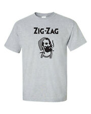 Zig Zag Stoner Weed Paper Rolling Hippie College Party Funny Men's Tee Shirt 545