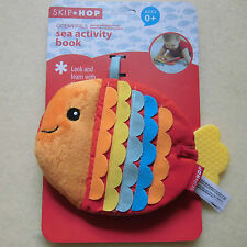Skip Hop Ocean Pals Sea Activity Book - Baby Soft Cloth Books Development Toys