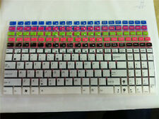 "Backlit Keyboard Skin Cover protector For Asus 15"" A55V X501 K55V S56C x54h A52J"