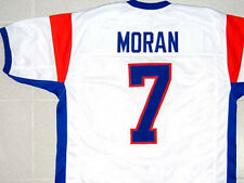 BLUE MOUNTAIN STATE JERSEY ALEX MORAN WHITE NEW ANY SIZE XS - 5XL