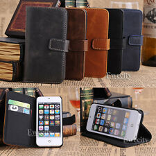 Flip Wallet Leather Stand Credit Card Set Case Cover For Apple iPhone 5 5G 5S