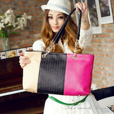 Fashion and Simple candy color handbag Women Shoulder Tote Hobo Bags