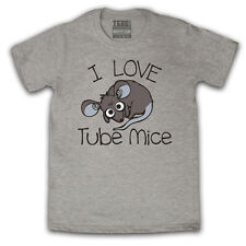 I LOVE TUBE MICE CUTE FUNNY HIPSTER LONDON TRAIN T-SHIRT MENS LADIES KIDS SIZES