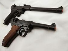 Replica German P-08 Luger Varieties Pistol WWII Reenactor Photography Prop Gun