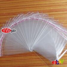 New 100pcs Clear Seal Self Adhesive Plastic Jewelry Packing DIY Bag 14X19cm Pick