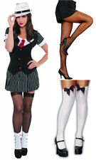 LADIES SEXY GANGSTER FANCY DRESS COSTUME HEN PARTY OUTFIT DRESSED TO KILL 996153