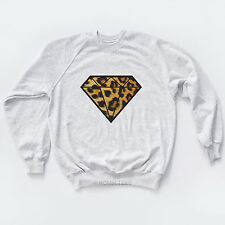 DIAMOND LEOPARD New Bling Dope YMCMB Sweatshirt Fresh Swag Obey Lux Unisex Sweat