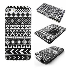 BLACK & WHITE Tribal Navajo Phone Case, Cover for Various Mobile Phones, Tablets
