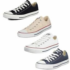 Womens Converse Shoes All Star Chuck Taylor Unisex Low Sneakers