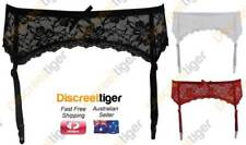 Sexy Floral Lace Garter Belt for Stockings Vintage Inspired Petite to Plus Size