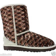 UGG Australia Women's Classic Short Sparkles 1002766 Holiday Shimmer New in Box