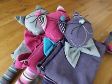 Childrens HANDMADE Kids Funky Cute Fashion Cat Girls Handbag ~ Super Gift