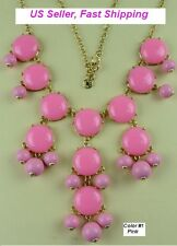 Bubble necklace statement necklace bib necklace---US seller Fast shipping