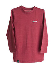 EDZ 200g Merino Children's Long Sleeve top and Leggings Set Claret