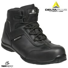 Delta Plus Panoply Superviser S3 Black Mens Safety Toe Cap Work Trainers Boots