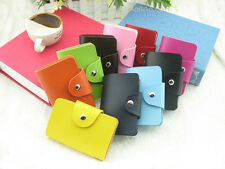 Leather Card Holder Case / Wallet  Credit Cards Business Cards ID Cards Wanmen's