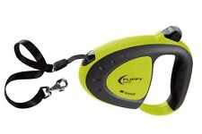Ferplast Flippy Tech, Green Retractable Tape Dog Lead - Choice of Sizes