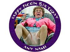"""7.5"""" MRS BROWNS BOYS PERSONALISED CAKE TOPPER ON ICING OR WAFER PAPER"""