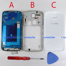 New OEM Housing Middle Frame Back Cover for Samsung Galaxy S4 AT&T i337 White