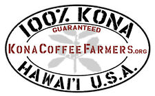 100% Hawaiian Kona Coffee Whole Beans Fresh Roasted 6 Pounds