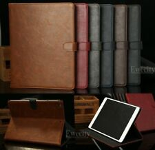 Luxury Folio Wallet Leather Card SET Stand Smart Case Cover For Apple iPad