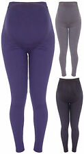 Womens Full Length Ladies Maternity Pregnancy Nursing Stretch Leggings Plus Size