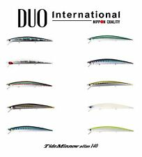 DUO Tide Minnow Slim 140 Saltwater Floating Lure - Select Color(s)