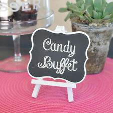 Large Chalkboard Easel Wedding Birthday Table Number Display Sign Decoration