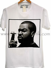 T-Shirt Homme Raw Uncut Ice Cube Weed Smoking Time !!!