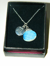 Avon Horoscope ZODIAC Astology PENDANT Necklace Disc-OPAL Virgo Scorpio etc.