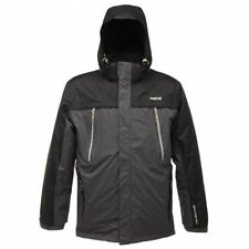 Regatta Highstand Men 3 in1 isotex Jacket Black Ash Waterproof Breathable RMP100