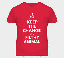 Keep The Change You Filthy Animal Home Alone Move T Shirt