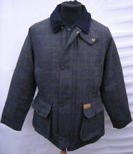 LADIES DERBY TWEED SHOOTING HUNTING JACKET - BLUE