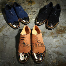 ByTheR Wingtip Leather Oxford Elegant Charming Trendy Shoes SFSELFAA0017831