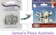 Bead Bugs & Stoppers - no more lost time & lost beads !!!