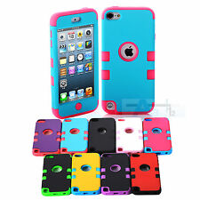 3-Piece New Hybrid High Impact Case Cover For iPod Touch 5th Generation + Pen